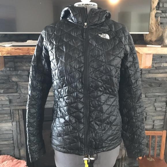 North face jacket M black